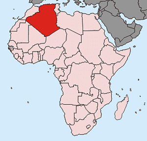 24 - algerienkarte
